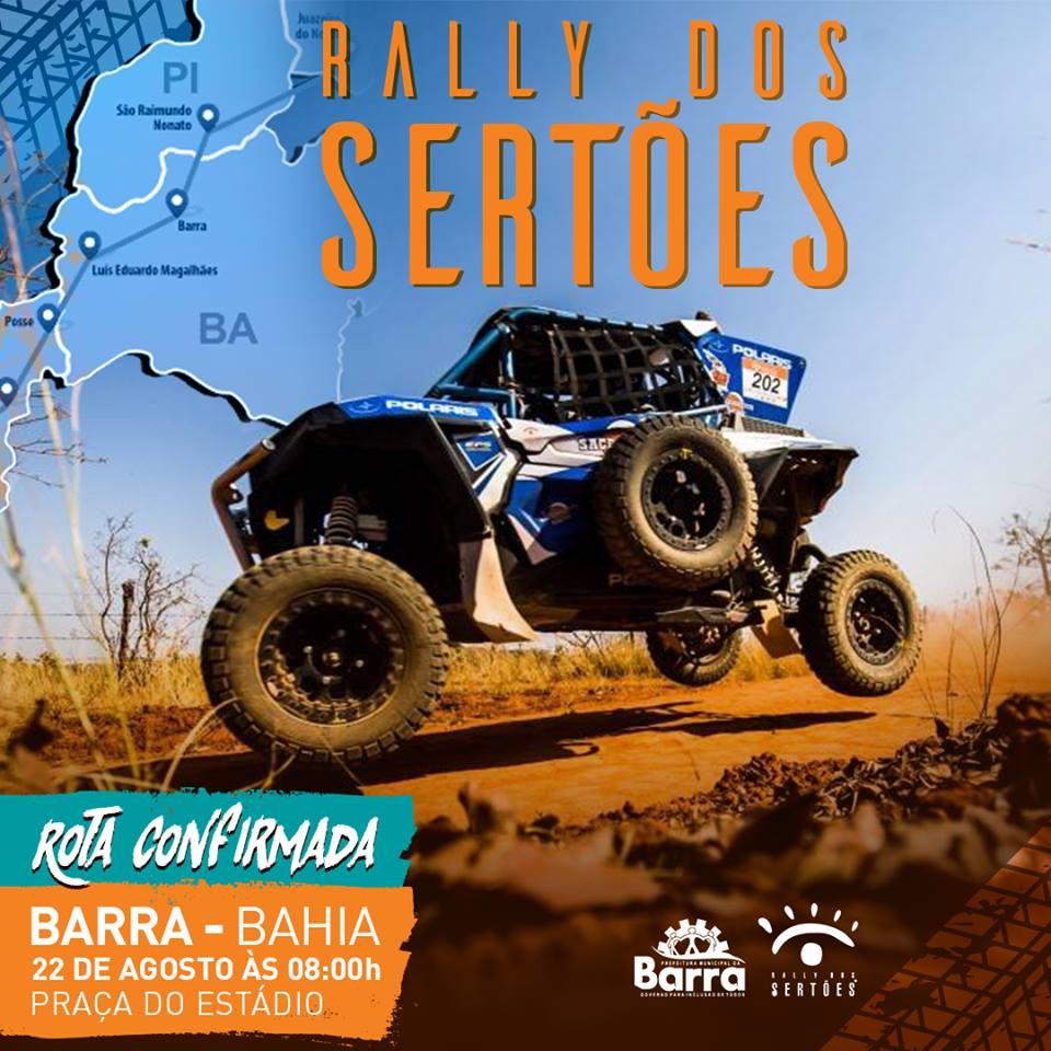 8c91a975e58c A 5ª etapa do Rally dos Sertões 2018 passará pela nossa cidade no próximo  dia 22 de agosto